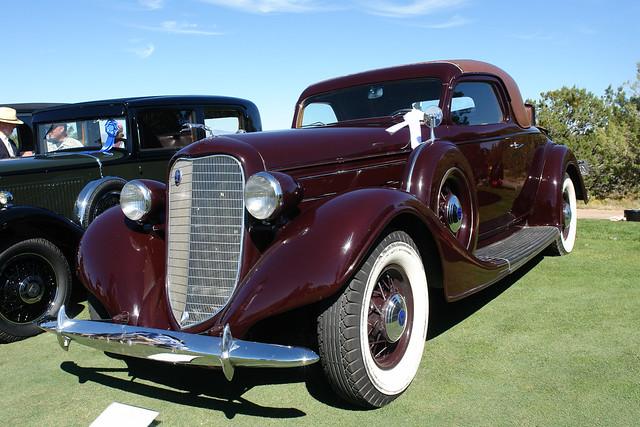 1935 Lincoln Model K LeBaron coupe