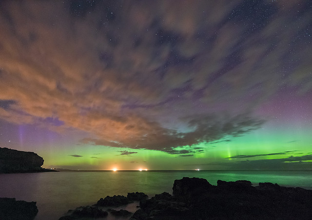 'A Night Has Many Colours' - Anglesey Aurora