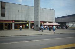 Nádraží Holešovice metro station, Praha