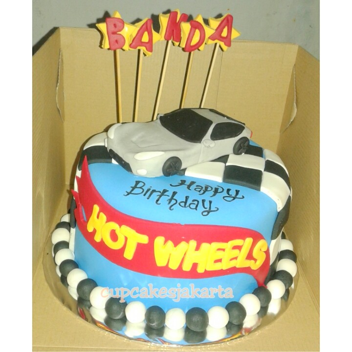 Surprising Hotwheel Birthday Cake Jakarta Outlet Pejaten Village M Flickr Funny Birthday Cards Online Chimdamsfinfo