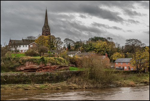 uk sky cloud church water river nikon europe view chester dee sigma2470f28 nikond610