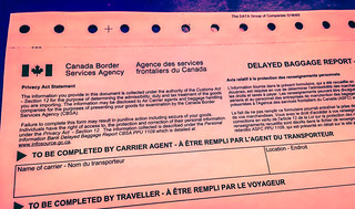 Delayed Baggage Report - Canada Border Services Agency | by Tony Webster