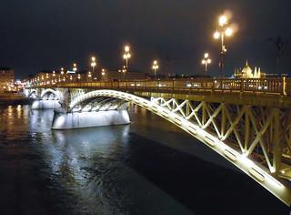 Budapest Margaret bridge