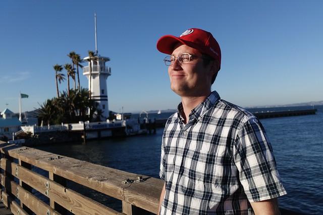 Kenan at Fisherman's Wharf, San Francisco