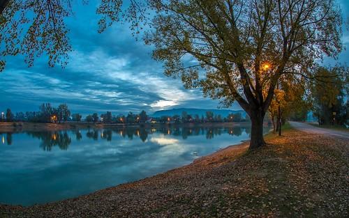 lakes lakezajarki landscapes morning autumn autumnmorning autumncolours zaprešić croatia hrvatska nikond600 sigma1528fisheye cloudy clouds