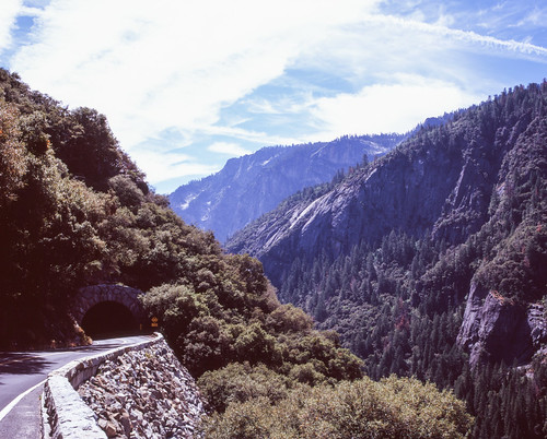 "Image titled ""Tunnel, Yosemite."""