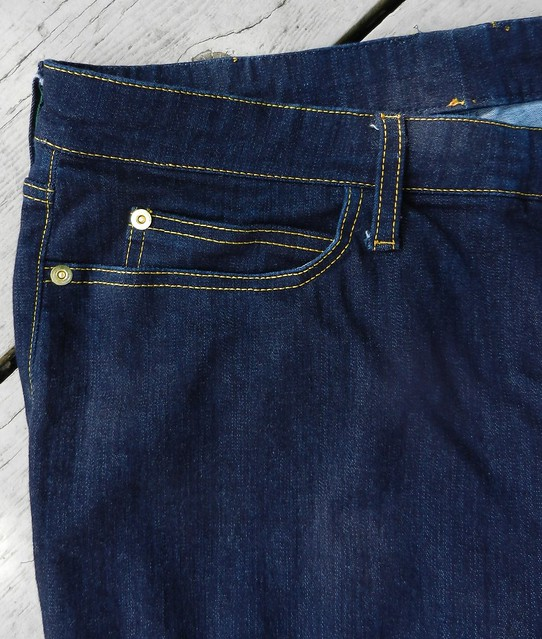 Ginger pocket detail