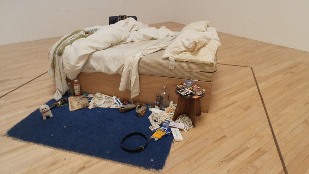 My Bed by Tracey Emin at Tate Britain London