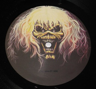 "IRON MAIDEN Number of the Beast Germany 12"" Vinyl LP 