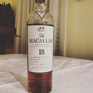 M is for the Macallan like this 18 year old delicious scotch which I need after the NY Giants dismal outing against the Eagles. #jwab #alphabetsoup #scotch | by JPdG photoGRAPHY