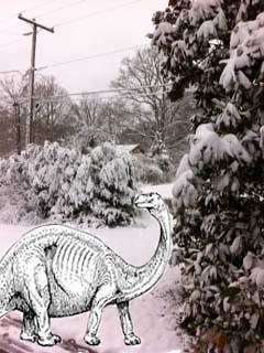 winter dino