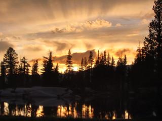 Sunset over Sunrise Lake #2   by fabulousfabs