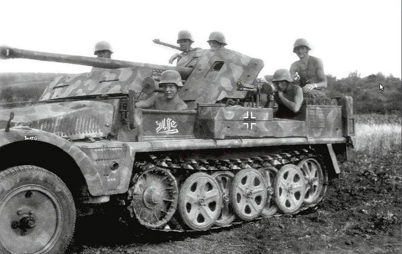 SdKfz. 10 with 50mm Pak 38