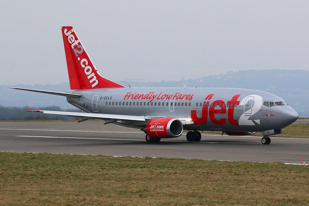 Jet2 Boeing 737-300 G-CELO