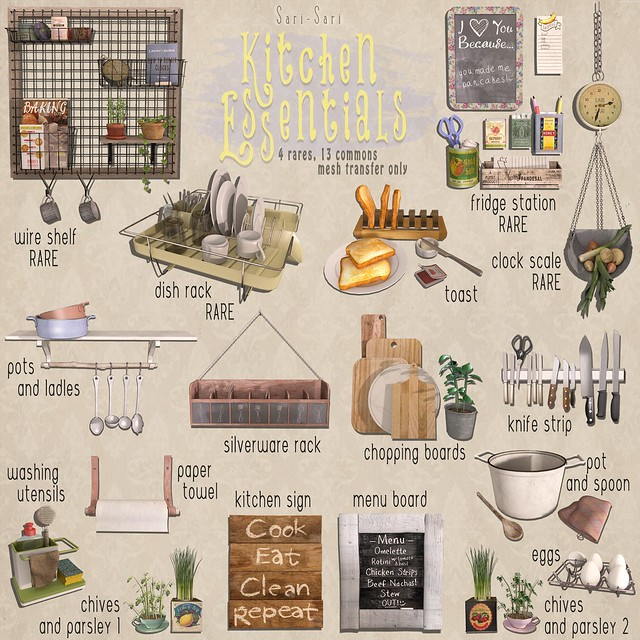 Sari-Sari - Kitchen Essentials