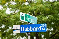 Phoenix Way Street sign unveiling, August 31, 2015