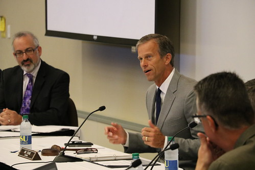 U.S. Sen. John Thune and witnesses | by dakotastate1881