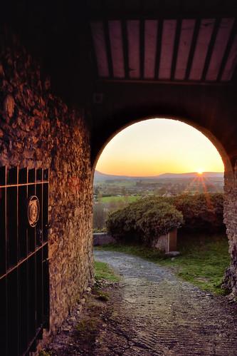 sunset lancashire clitheroe clitheroecastle lancashirelandscape lancashiresunset