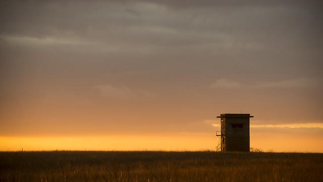Observation Post at Sunset