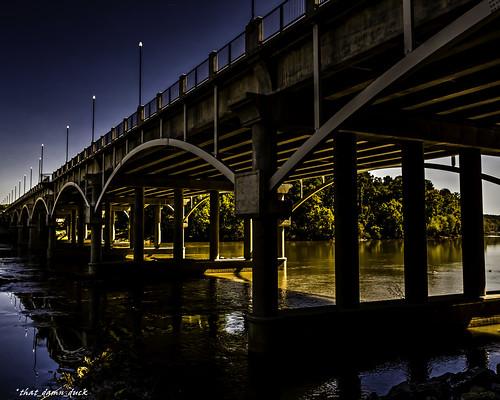 bridge sunset unitedstates sundown dusk southcarolina bridges columbiasc