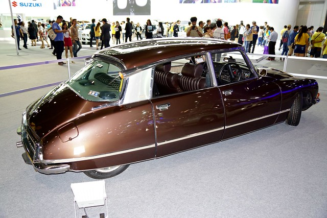 Classic Citroen DS 23 Pallas at the 32nd Thailand International Motor Expo at IMPACT Challenger in Muang Thong Thani, Nonthaburi