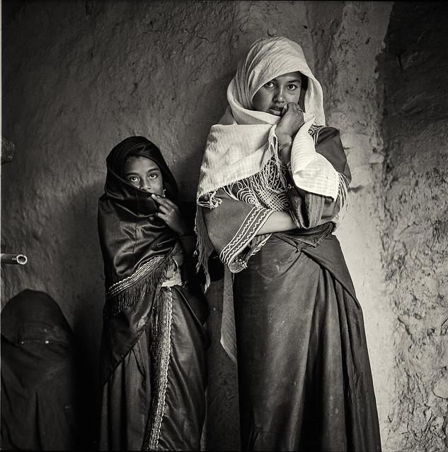 Girls. Inskat, Morocco 1984