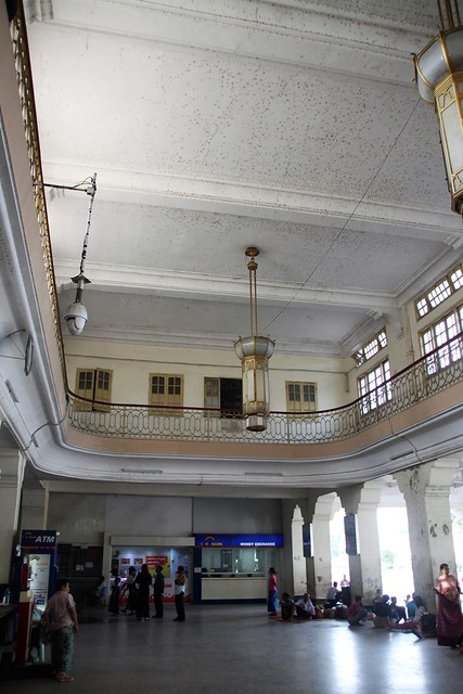 Central Trainstation Yangon