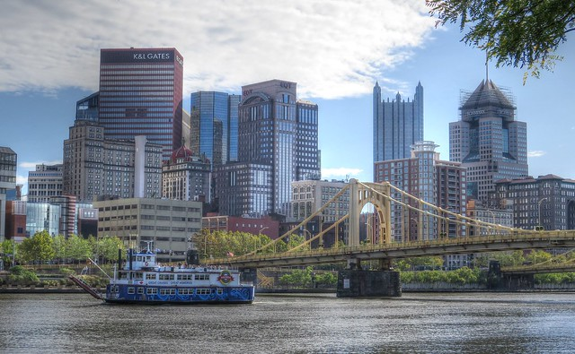 Along the Allegheny River @ Pittsburgh, PA