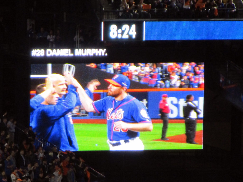 Citi Field 10 12 15 Nlds Game 3 Introduction Of The M Flickr