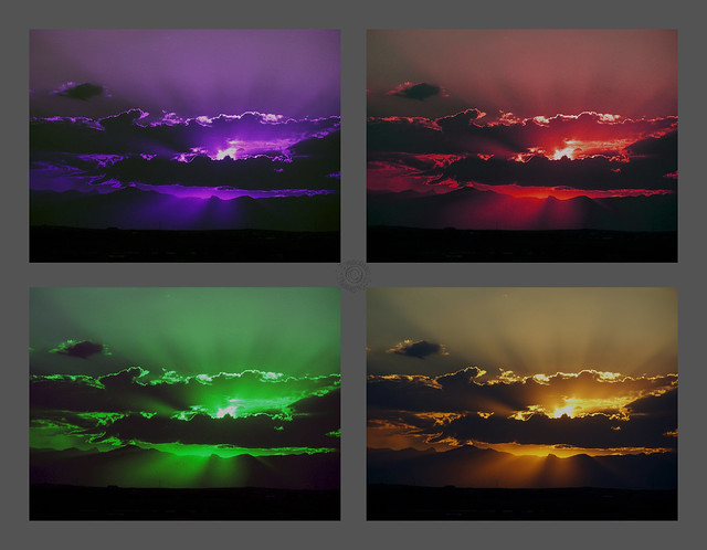 Four Color Glory Skies (which is best?) (Explored 10-9-15)
