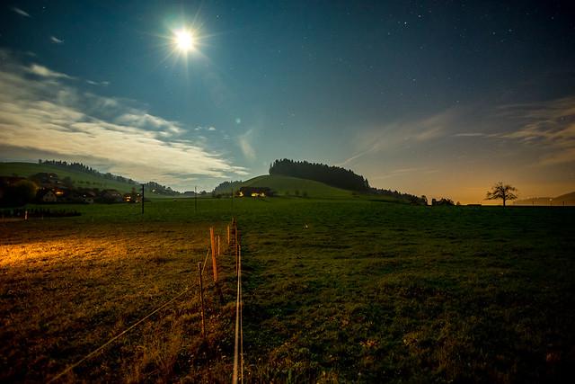 Night in Zäziwil