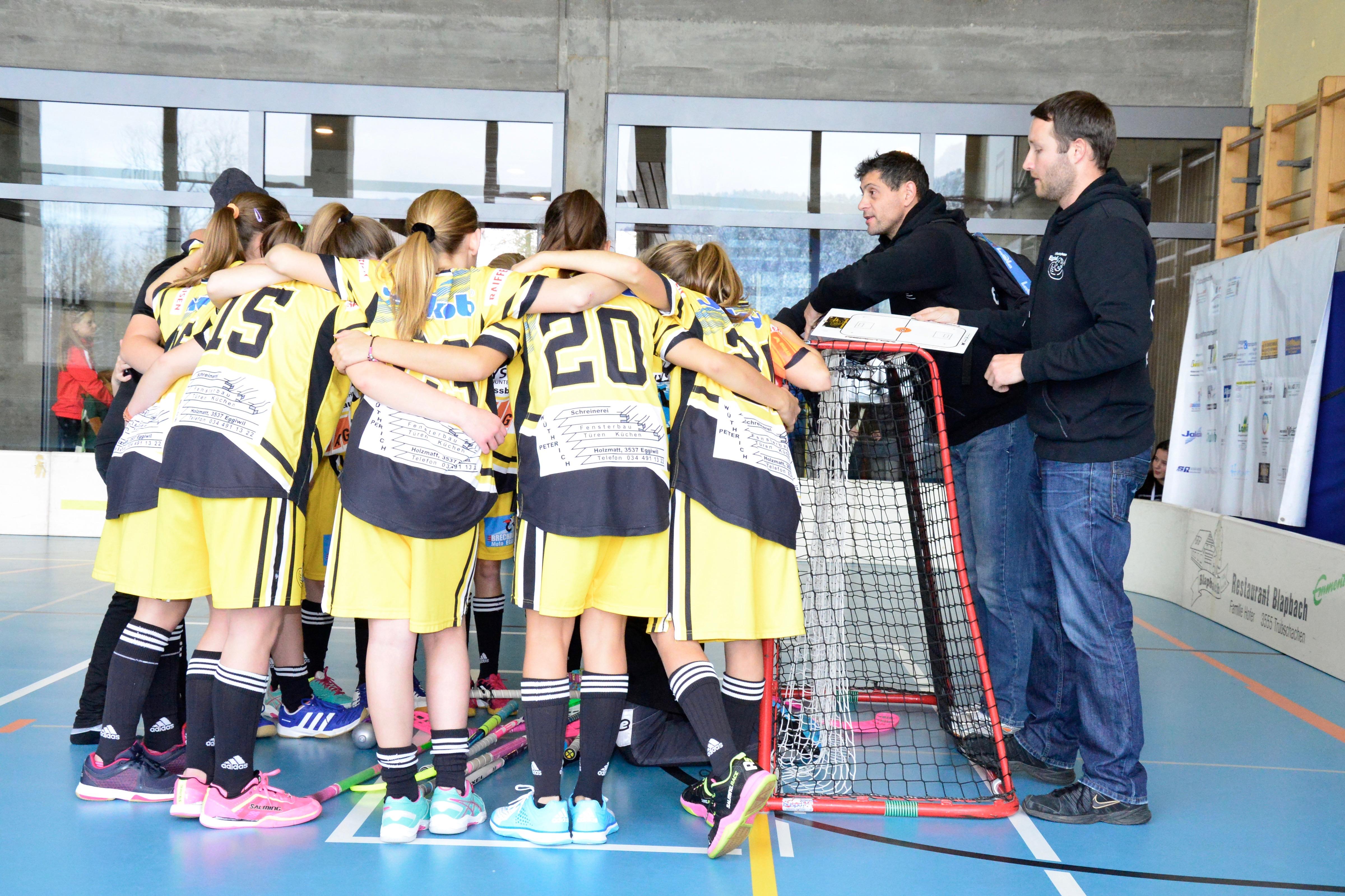 Juniorinne C - UH Zulgtal Eagles Saison 2015/16