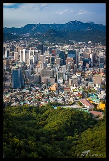 Seoul from Above | by Lionel Davoust