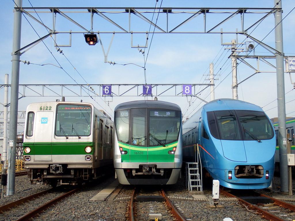Tokyo Metro Ayase Depot 東京地下鉄 綾瀬車両基地