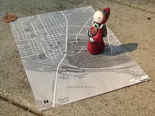 Portland City Walks No. 20 - Map
