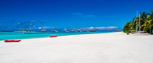 sand kayak red sky blue maldives lagoon tropical island exotics bungalow calm caribbean clear clouds coast coastline coconut coral destination dreaming dry exotic foliage green heaven holiday holidays honeymoon honeymooner hotel idyllic jetty landscape love luxury nature nobody ocean outdoor outdoors icemanphotos canon