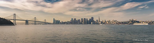 sanfrancisco california morning panorama skyline zeiss sunrise oakland treasureisland unitedstates baybridge 2015 sonya6000 sonyvariotessare1670mmf4