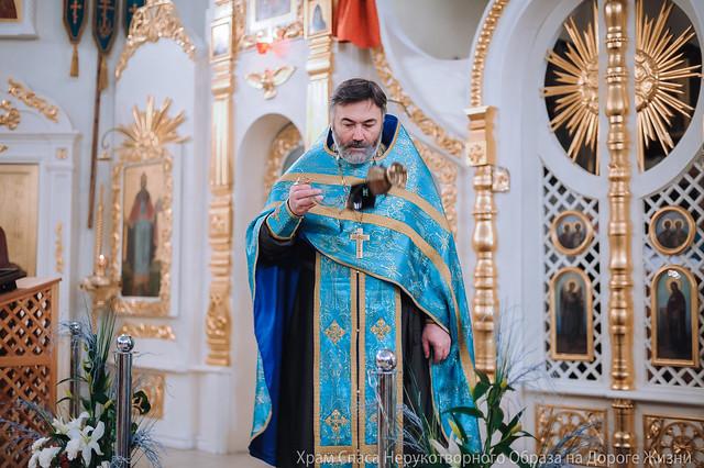 6 декабря 2015 года. Неделя 27-я по Пятидесятнице. Попразднство Введения во Храм Пресвятой Богородицы