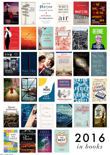 2016 in books | by like / want / need