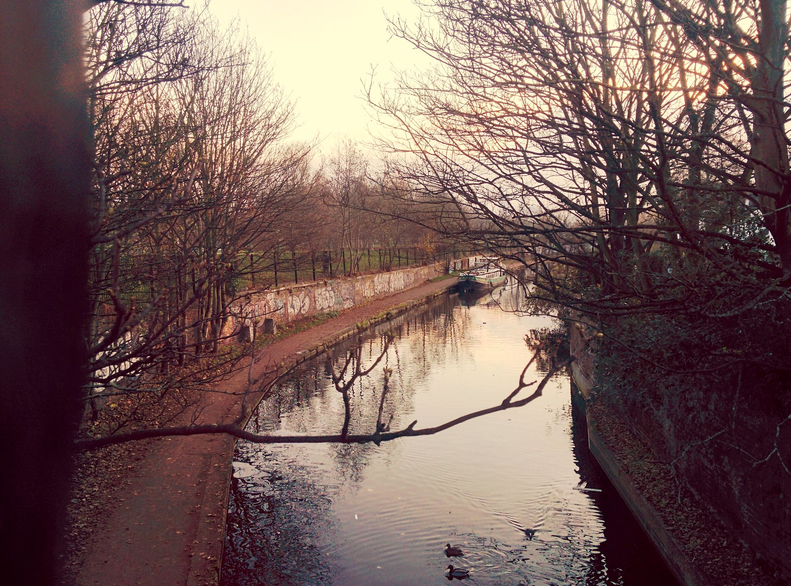 Regent's Canal, East London.