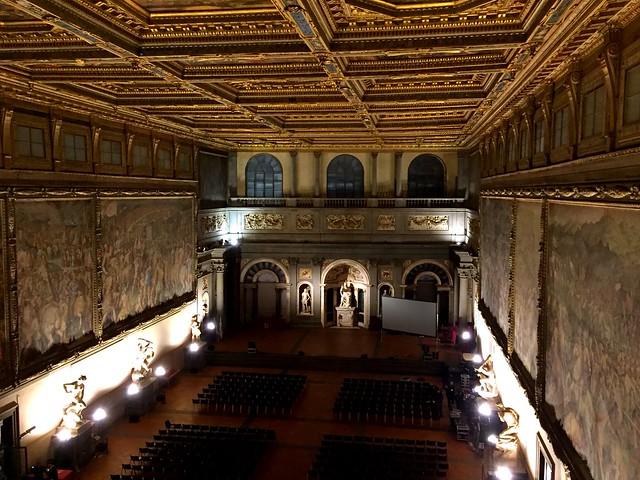Palazzo Vecchio - il salone dei Cinquecento