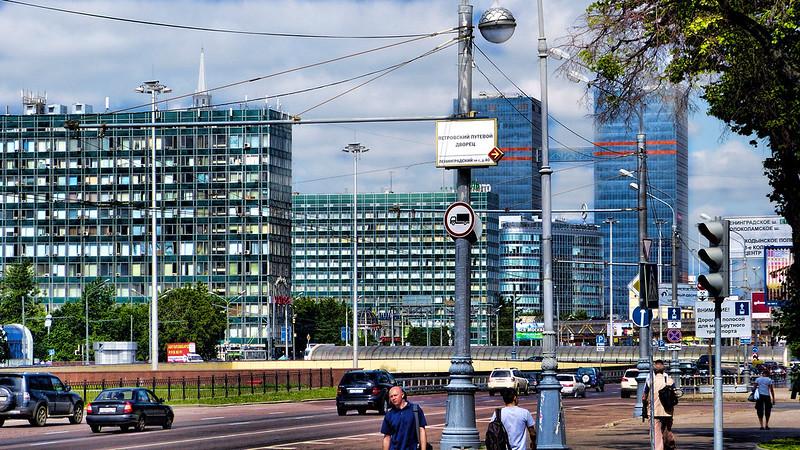 Leningradsky prospekt Moscow