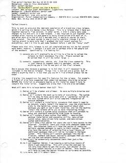 Debian announcement (8/16/1993) | by iamurdock