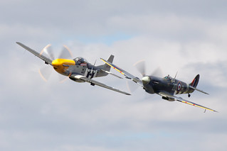 P-51D Mustang & Spifire MkIV | by o RATMAN o