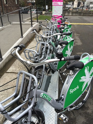 Spark Bike Share at The Arts Centre