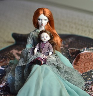 Box opening - Mihrimah Sultan Porcelain BJD | by *Solveig*