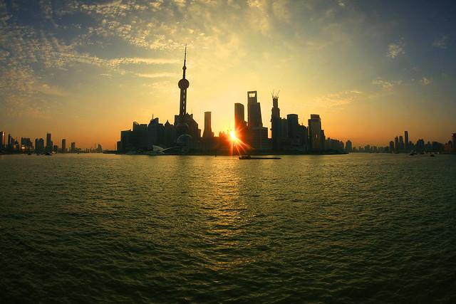 Shanghai sunrise
