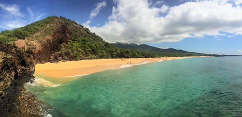 Hawaii Maui Makena Big Beach | by dronepicr