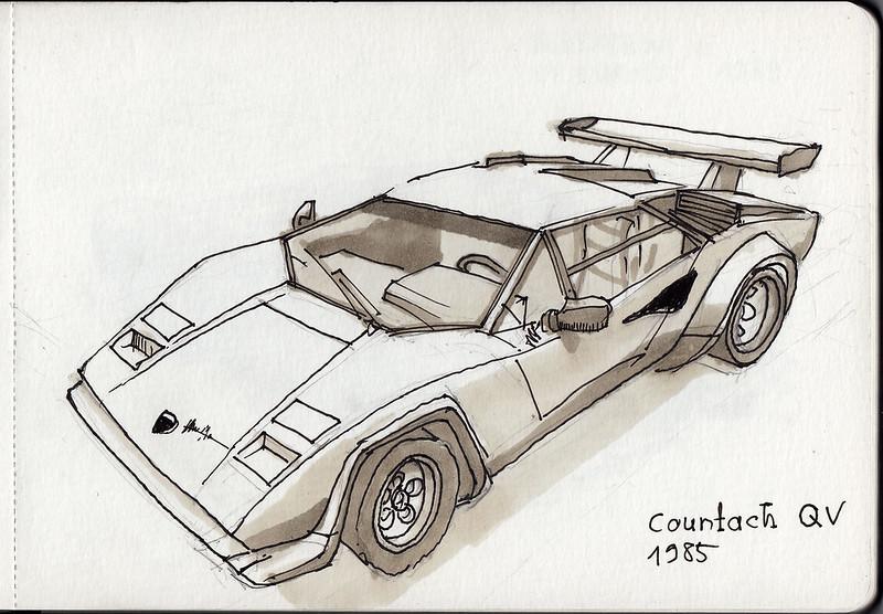 Lamborghini Countach QV 1985