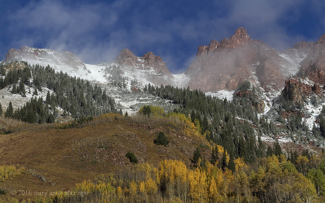 Snow on the Peaks